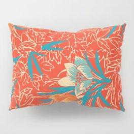 Retropico ~ Orange Pillow Sham
