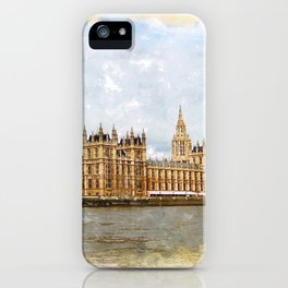 The Palace of Westminster iPhone Case
