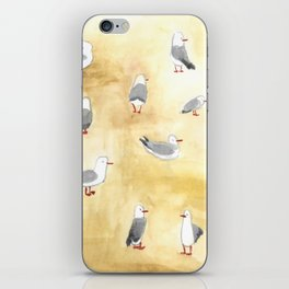 Seagulls of Newcastle iPhone Skin