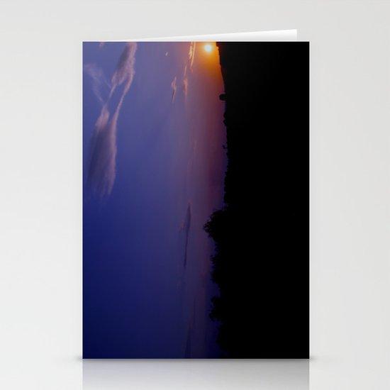 Amazing sunset Stationery Cards