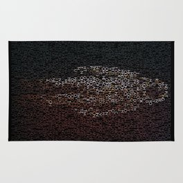 Major Tom Trilogy Rug