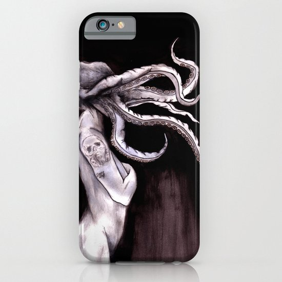Something Touched Me and I Was Only Sleeping iPhone & iPod Case