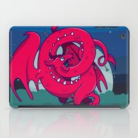 skyrim iPad Cases featuring Last of the Dovah (Skyrim) by Andrea Meli
