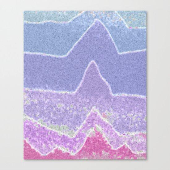 Amazing Peaks Canvas Print
