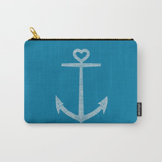 Love is the anchor Carry-All Pouch