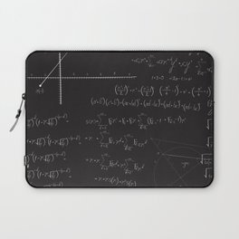 Mathematical seamless pattern Laptop Sleeve
