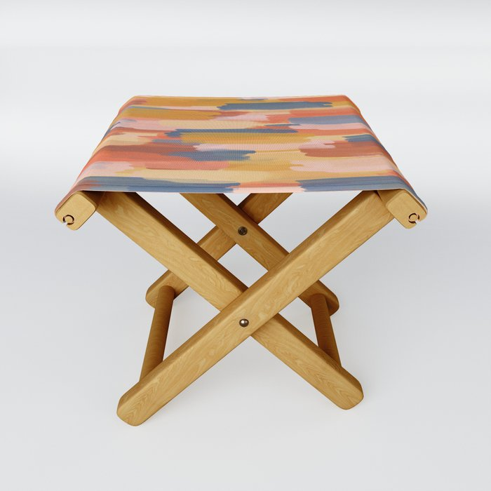 Summer Hay Folding Stool