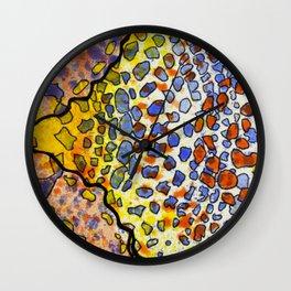 3, Inset A Wall Clock