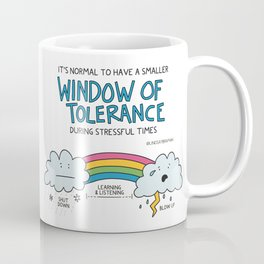 Effects of Stress on Window of Tolerance Coffee Mug