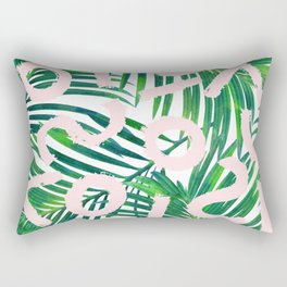 Palm Blabber #society6 #decor #buyart Rectangular Pillow