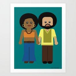 Power Couple Art Print