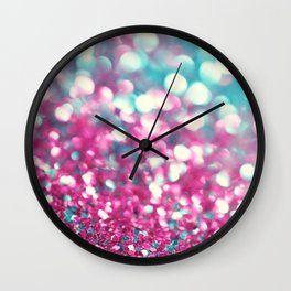 Twinkle Sparkle and Shimmer Wall Clock