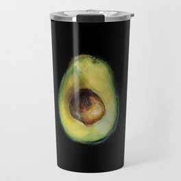 Avocado Painting by Brooke Figer Travel Mug
