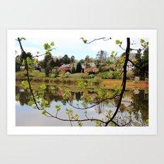 Moments of Reflection Art Print