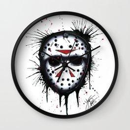The Horror of Jason Wall Clock