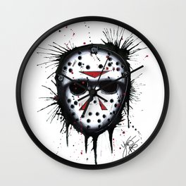 The Horror of Jason Wall Clock