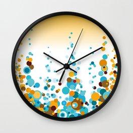 Summer Pattern 33 Wall Clock