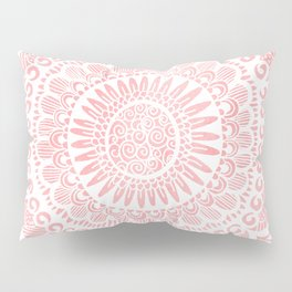 Blush Lace Pillow Sham