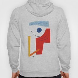 Abstract face. Hoody