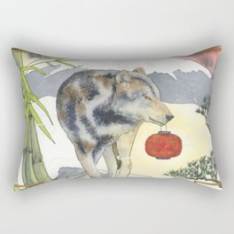 2018 Chinese New Year of the Earth Dog Rectangular Pillow