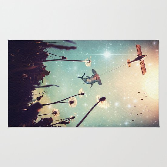 Flying Lessons Rug