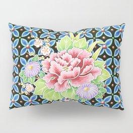 Brocade Bouquet Pillow Sham