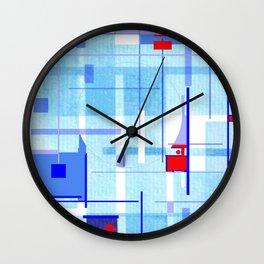 A Tribute to Brazilian Neoconcretists Wall Clock