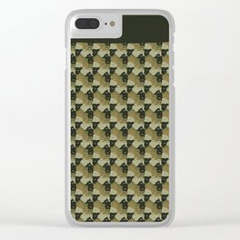 Camuflaje Clear iPhone Case