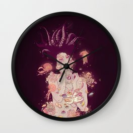 Abyss Lady Wall Clock