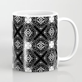 Decorative pattern in black and white 3 Coffee Mug