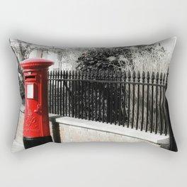 Waiting for the Postman Rectangular Pillow