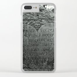 Love in Death Clear iPhone Case