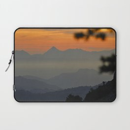 """""""Sunset at the mountains II"""" Laptop Sleeve"""
