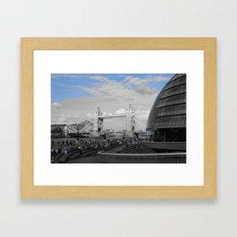People in London Framed Art Print