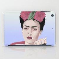 frida iPad Cases featuring Frida by Acromatiq