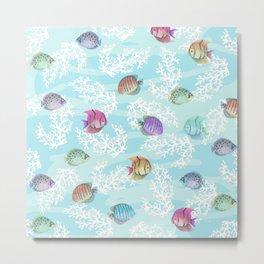 my aquarium Metal Print