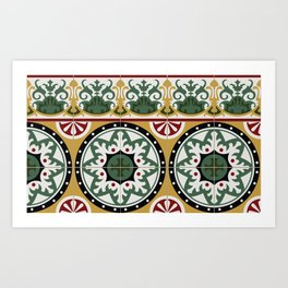 tiles.02 Art Print