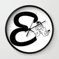 "winnie the pooh Wall Clocks featuring ""Winnie the Pooh"" 