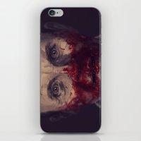 hannibal iPhone & iPod Skins featuring Hannibal by MATT DEMINO