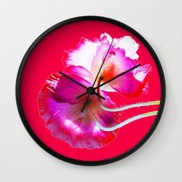 POP Poppy Love Wall Clock