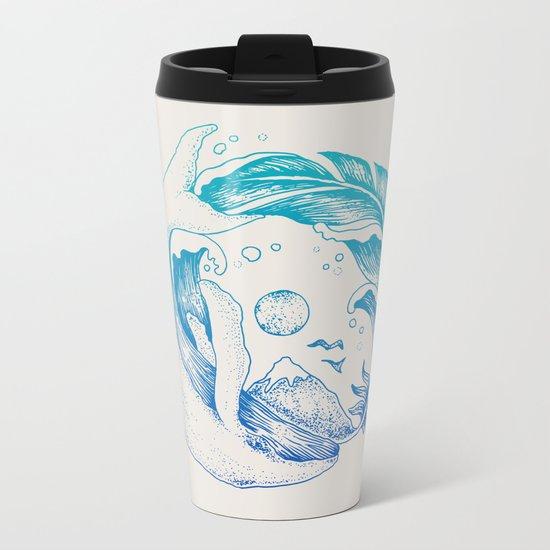 Fly High/Swim Deep Metal Travel Mug