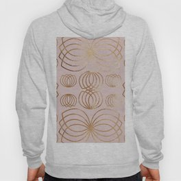 Honey Bee rose gold Hoody
