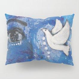 Come Thru Dove Pillow Sham