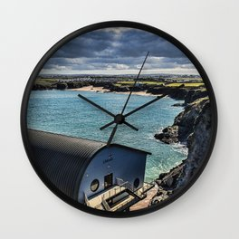 Padstow Lifeboat Station 2 Wall Clock