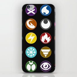 Pokémon Type Chart iPhone Skin