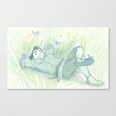 Real Life Princess, Bo Canvas Print
