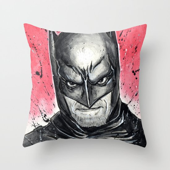 I AM THE NIGHT Throw Pillow