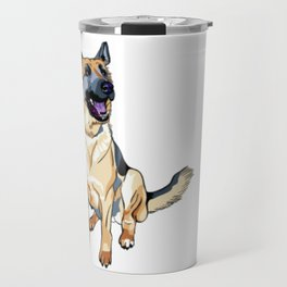 German Shepard Travel Mug