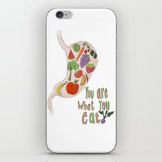 You Are What You Eat iPhone & iPod Skin