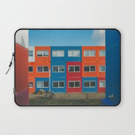 Colorful Container house Amsterdam Laptop Sleeve